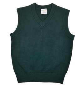 Elder Manufacturing Co. Inc. V/NECK SWEATER VEST GREEN B