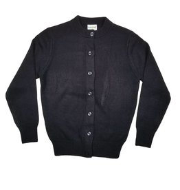 Elder Manufacturing Co. Inc. GIRLS CARDIGAN NAVY B