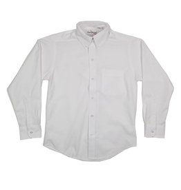 Elder Manufacturing Co. Inc. BOYS/MENS LS WHITE OXFORD SHIRT 3