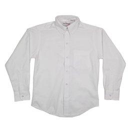 Elder Manufacturing Co. Inc. BOYS/MENS LS WHITE OXFORD SHIRT 4