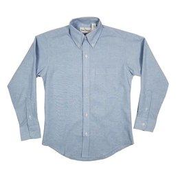Elder Manufacturing Co. Inc. BOYS/MENS LS LT BLUE OXFORD SHIRT 3