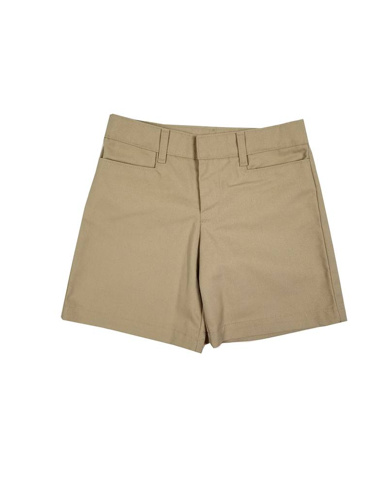 Elder Manufacturing Co. Inc. GIRL/LADIES FLAT FRONT SHORT KHAKI 3