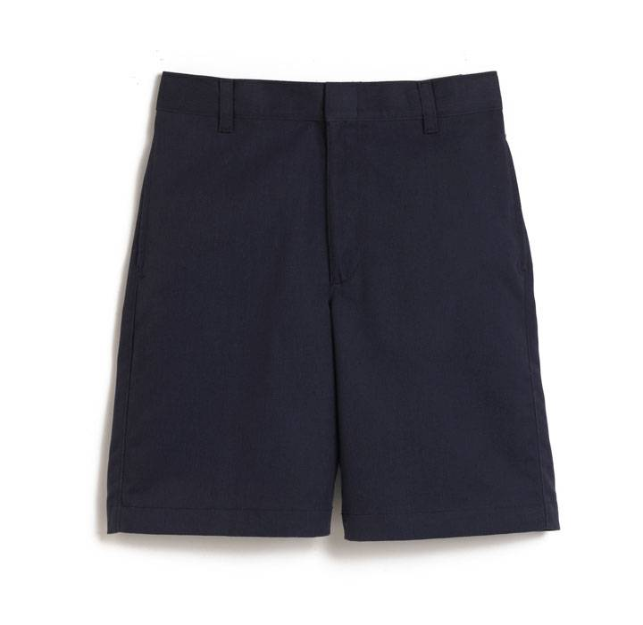 Elder Manufacturing Co. Inc. BOYS/MENS FLAT FRONT SHORTS NAVY 2