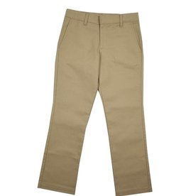 Elder Manufacturing Co. Inc. GIRLS/LADIES FLAT FRONT PANTS KHAKI 2
