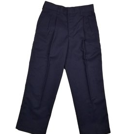 Elder Manufacturing Co. Inc. BOY/MENS PLEATED PANTS NAVY 5