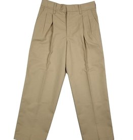 Elder Manufacturing Co. Inc. BOY/MENS PLEATED PANTS KHAKI 3