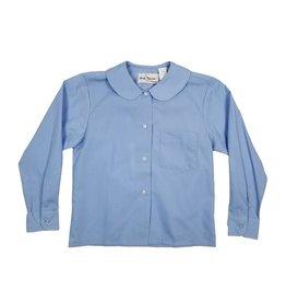 Elder Manufacturing Co. Inc. GIRLS/LADIES LS LT BLUE ROUND COLLAR BLOUSE 2