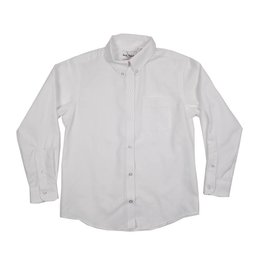 Elder Manufacturing Co. Inc. GIRLS/LADIES LS WHITE OXFORD BLOUSE 2