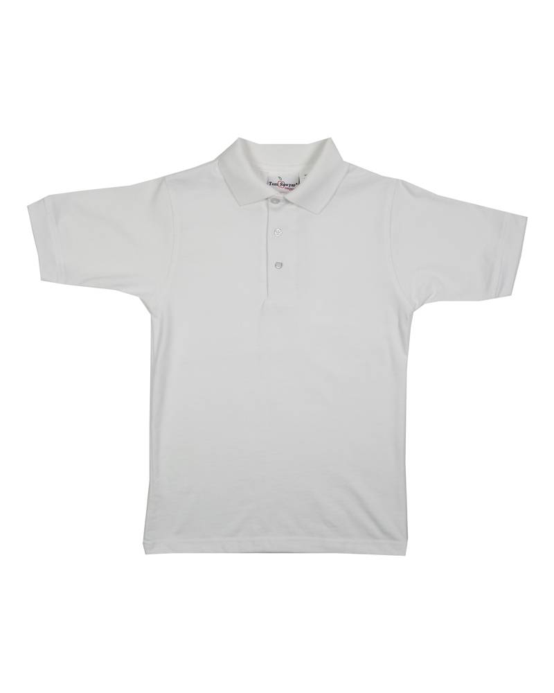 Elder Manufacturing Co. Inc. SHORT SLEEVE JERSEY KNIT SHIRT WHITE H