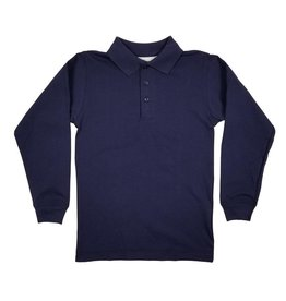 Elder Manufacturing Co. Inc. LONG SLEEVE  JERSEY KNIT SHIRT NAVY B