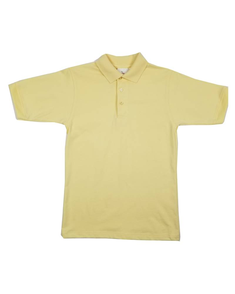 Elder Manufacturing Co. Inc. SHORT SLEEVE JERSEY KNIT SHIRT YELLOW