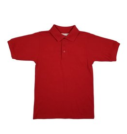 Elder Manufacturing Co. Inc. SHORT SLEEVE JERSEY KNIT SHIRT RED B