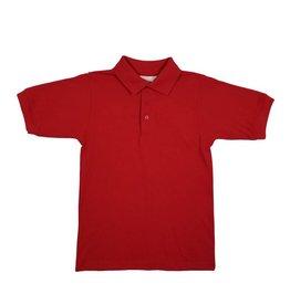 Elder Manufacturing Co. Inc. SHORT SLEEVE JERSEY KNIT SHIRT RED B
