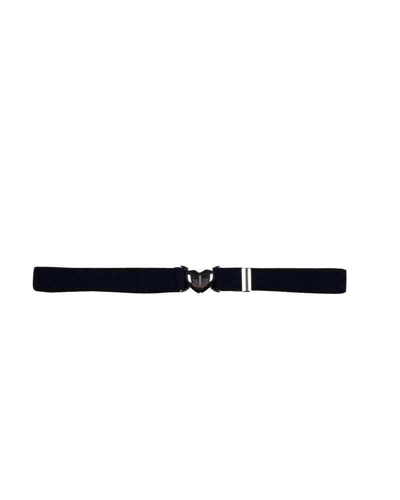 A Finishing Touch HEART CLIP BELT NAVY E