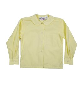 Elder Manufacturing Co. Inc. GIRLS/LADIES LS YELLOW ROUND COLLAR BLOUSE 2