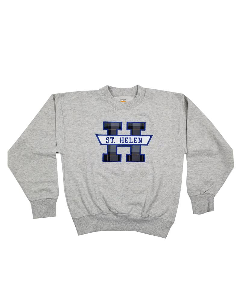 School Apparel, Inc. ST. HELEN PLAID SWEATSHIRT