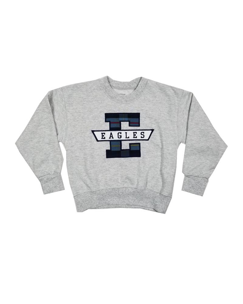 School Apparel, Inc. EAST DAYTON CHRISTIAN PLAID SWEATSHIRT