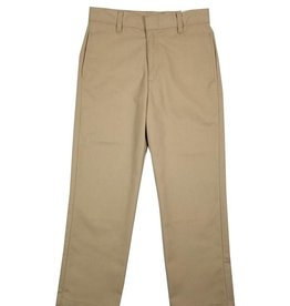 Elder Manufacturing Co. Inc. BOY/MENS FLAT FRONT PANTS KHAKI 4