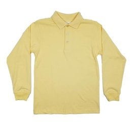 Elder Manufacturing Co. Inc. LONG SLEEVE  JERSEY KNIT SHIRT YELLOW B