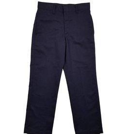 Elder Manufacturing Co. Inc. BOY/MENS FLAT FRONT PANTS NAVY 4