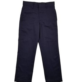 Elder Manufacturing Co. Inc. BOY/MENS FLAT FRONT PANTS NAVY 3