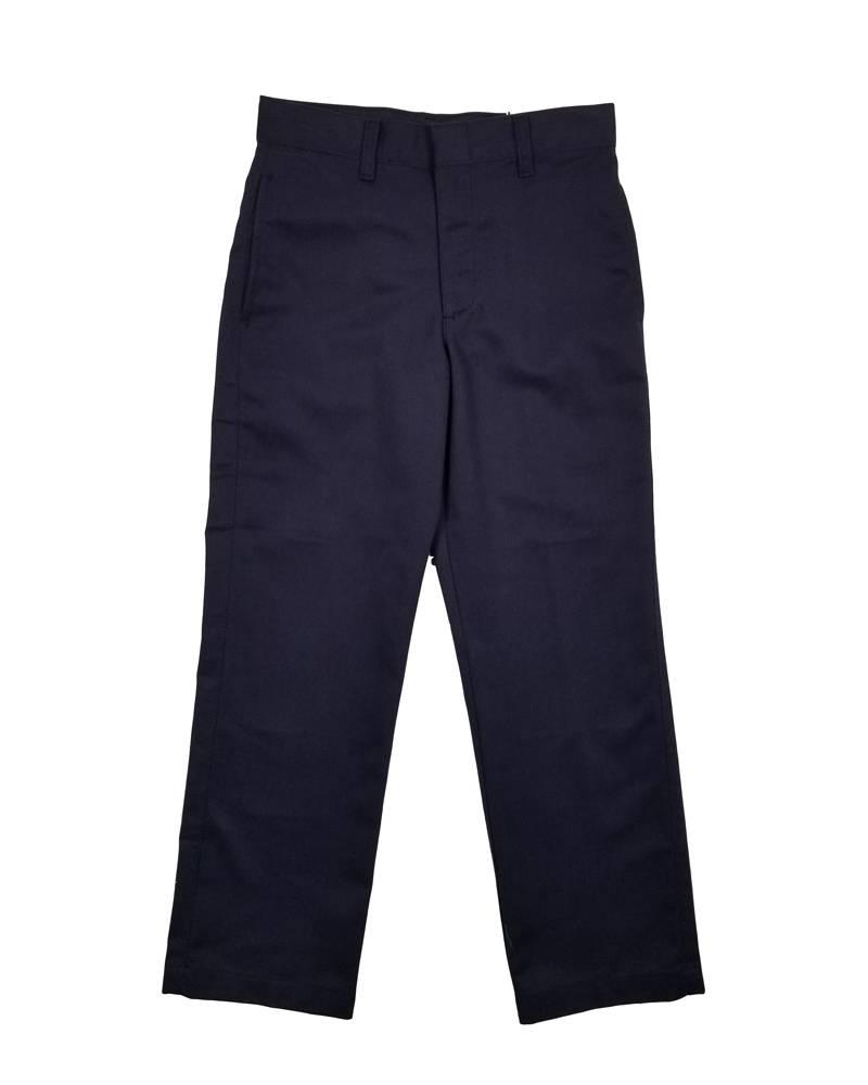 Elder Manufacturing Co. Inc. BOY/MENS FLAT FRONT PANTS NAVY 3