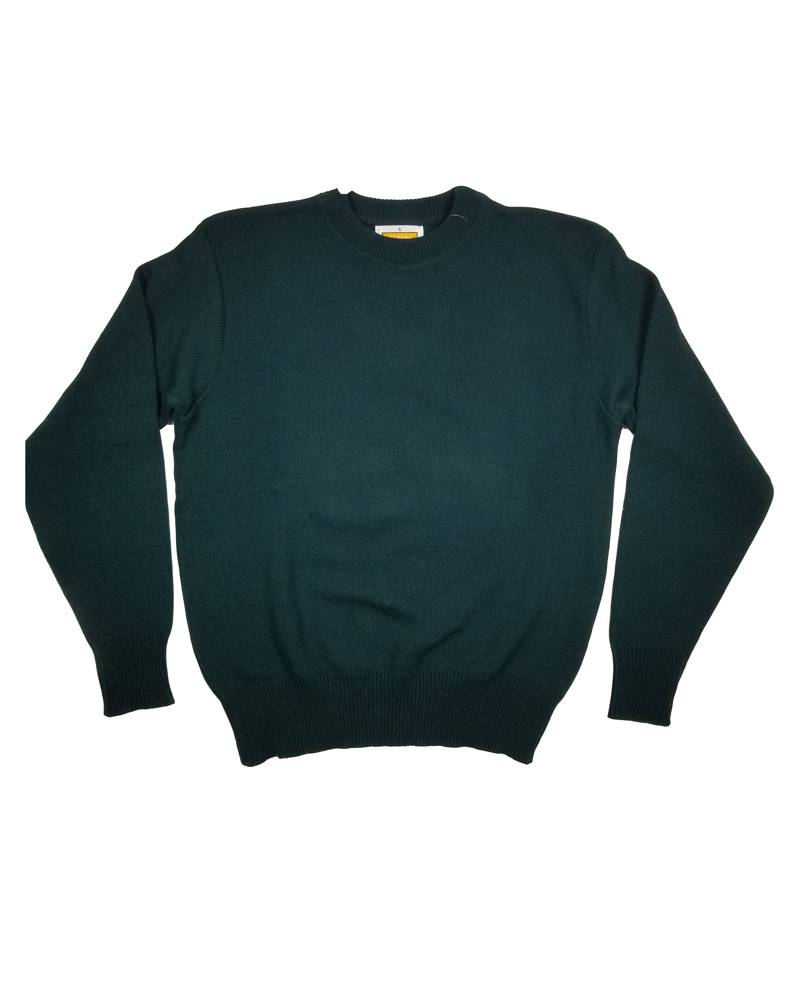 School Apparel, Inc. CREW NECK PULLOVER SWEATER GREEN B