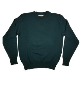 School Apparel, Inc. CREW NECK PULLOVER SWEATER GREEN