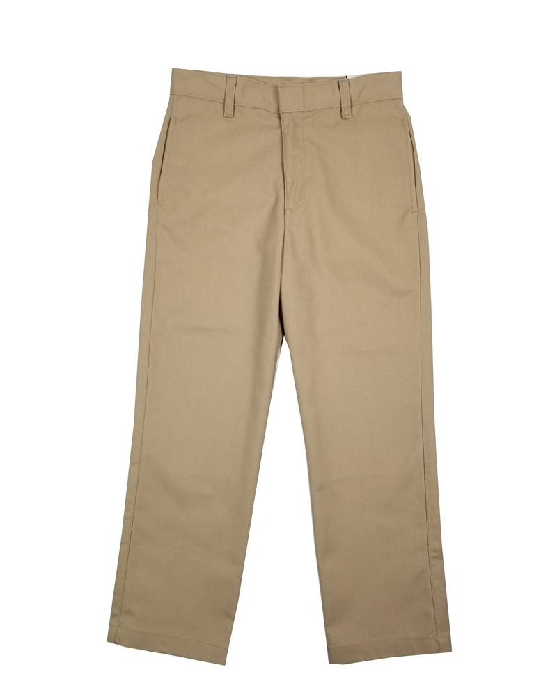 Elder Manufacturing Co. Inc. BOY/MENS FLAT FRONT PANTS KHAKI 2