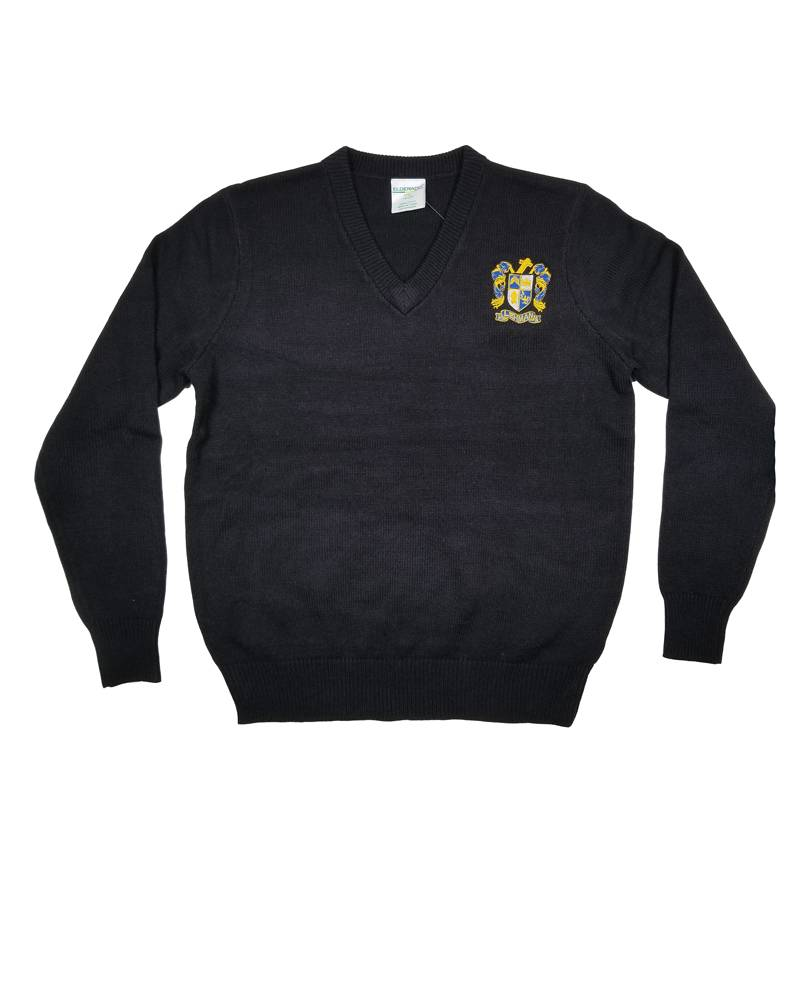 Elder Manufacturing Co. Inc. LEHMAN CATHOLIC V-NECK PULLOVER SWEATER