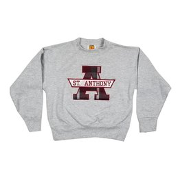 School Apparel, Inc. ST. ANTHONY LORAIN PLAID SWEATSHIRT