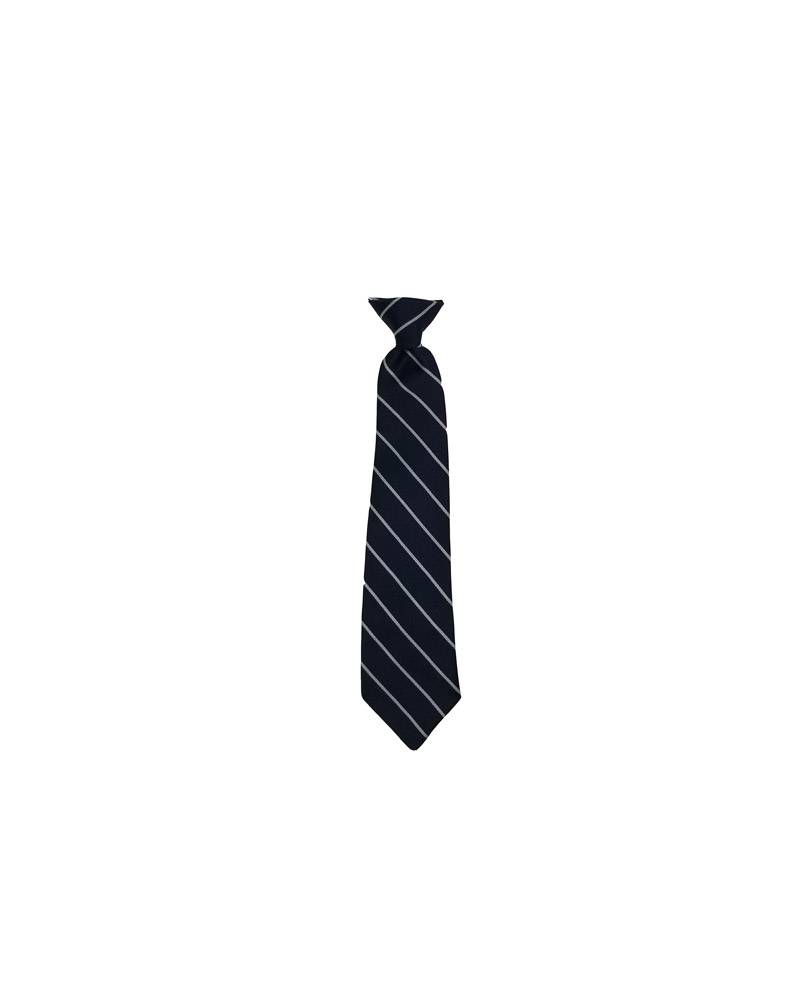"A Finishing Touch 12"" READY MADE TIE NV/WH"