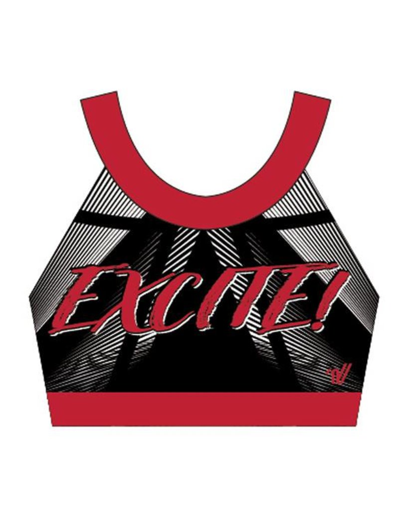 Excite! Mesh 18 -19 Practice Sports Top