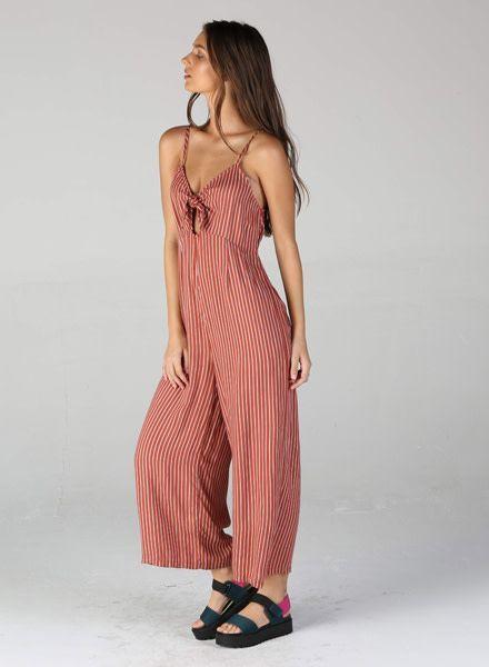 Angie Spaghetti Strap Jumpsuit (Q5S75)