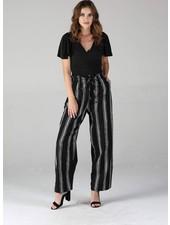 Angie Twill Striped Pants (25Q30)