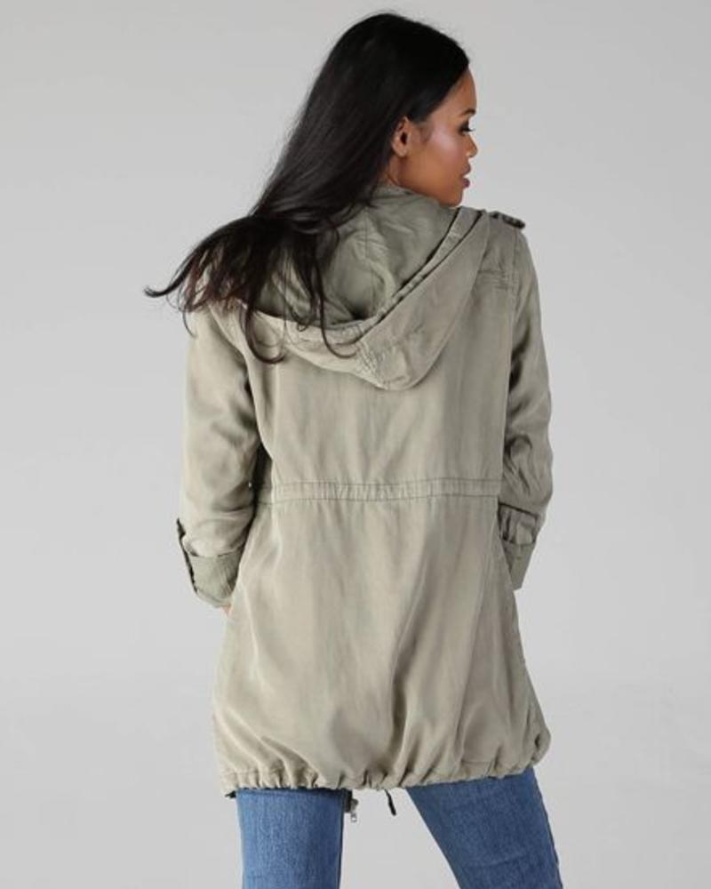 Angie Tencel Utility Jacket (SJ826)