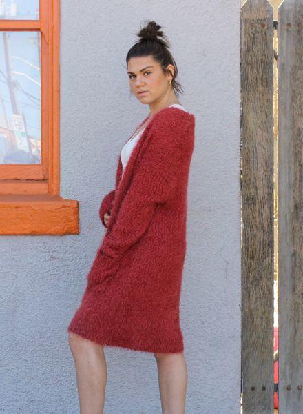 Angie Knobby Yarns Soft Cardigan (XHC62)