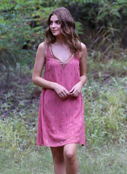 Angie Beaded Tank Dress (B4Z82)