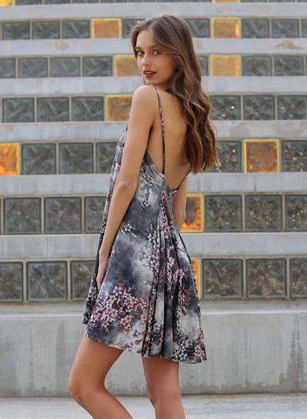 Angie Velvet Dress (F4843)