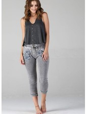 Angie Burnout Jogger With Embroidery (XP793)