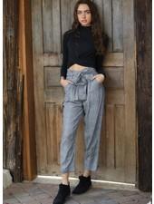 Angie Paperbag Tie Waist Pant (25Q03)