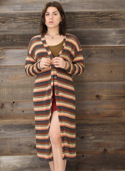 Lush Long Sweater Cardigan (T14371)
