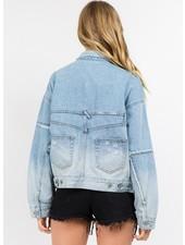 Signature 8 Oversized Denim Jacket (S5452)