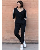 Signature 8 Side Contrast Jumpsuit (S9094)