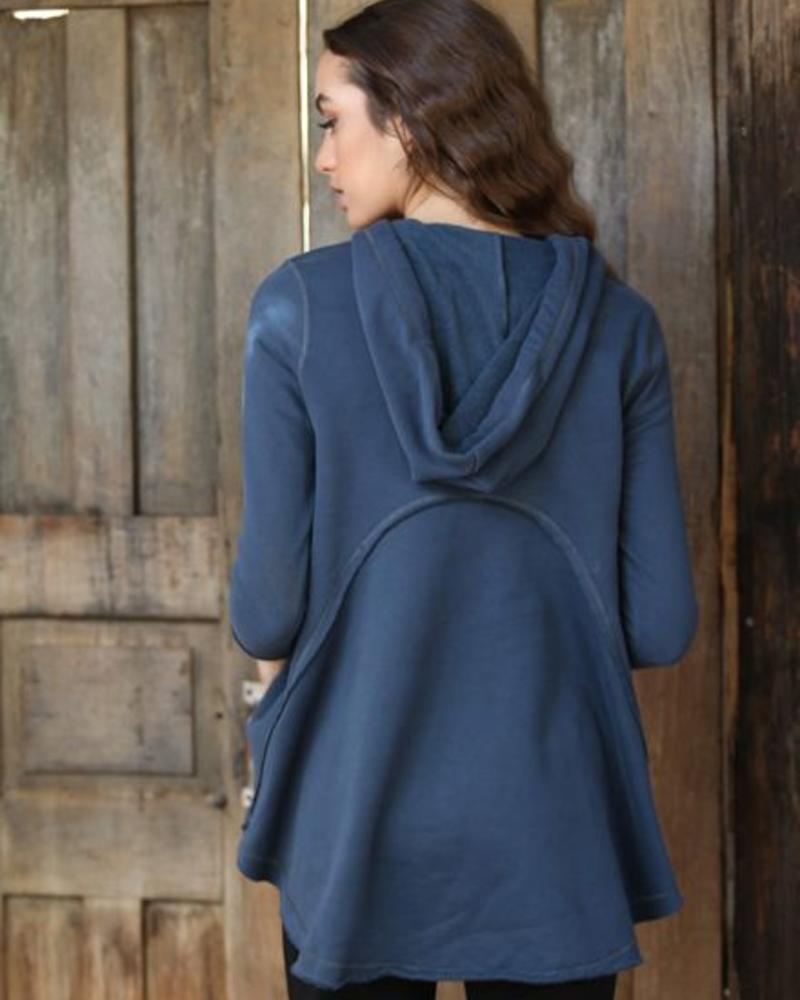 Angie Hoodie with A-Line & Seams (XHD45) - FINAL SALE