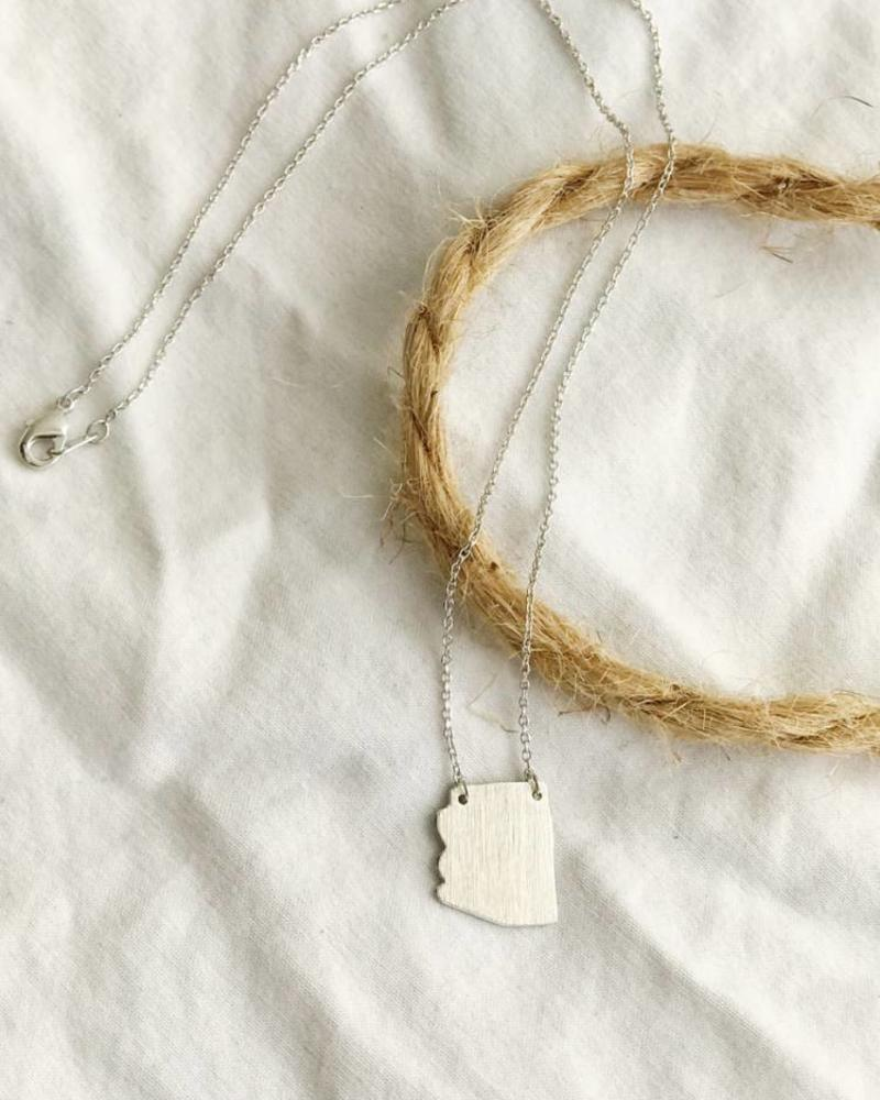 Must Have Must Have Arizona State Pendant Necklace (FNESAZ/ENE1500)