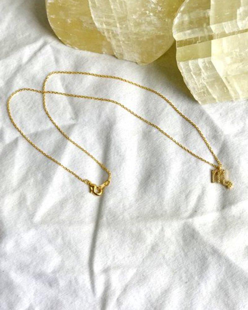 Must Have Scorpio Zodiac Pendant Necklace (NN1271)