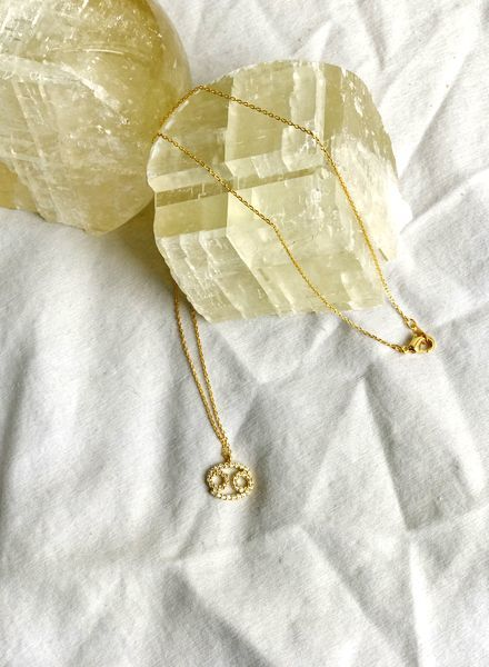 Must Have Cancer Zodiac Pendant Necklace (NN1269)