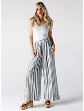 Angie Striped Wide Leg Cuff (B3289)