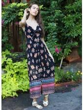 Angie Tie Front Maxi Dress (B4BB2)